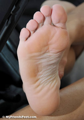 Ace Pedal Pumps in Socks and Bare Feet