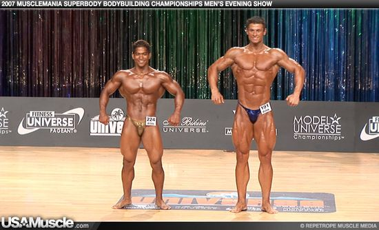 2007 Musclemania Superbody