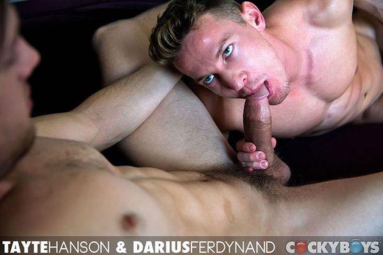 Tayte Hanson & Darius Ferdynand Flip-Fuck!