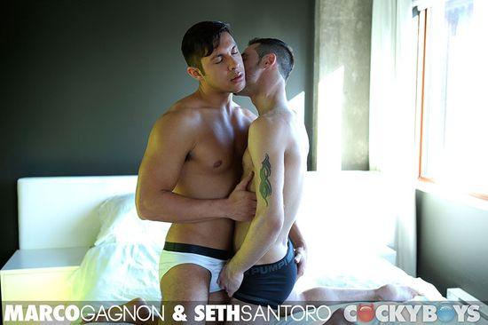 Marco Gagnon Fucks Seth Santoro