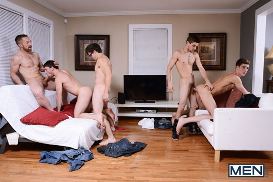 Adam Herst, Johnny Rapid, Scott Harbor, Travis Stevens, Will Braun