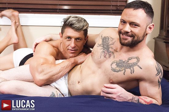 Sergeant Miles And Bryce Evans Take Turns Breeding Ass