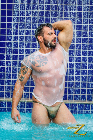 Gustavo in Pool Time at JimmyZProductions