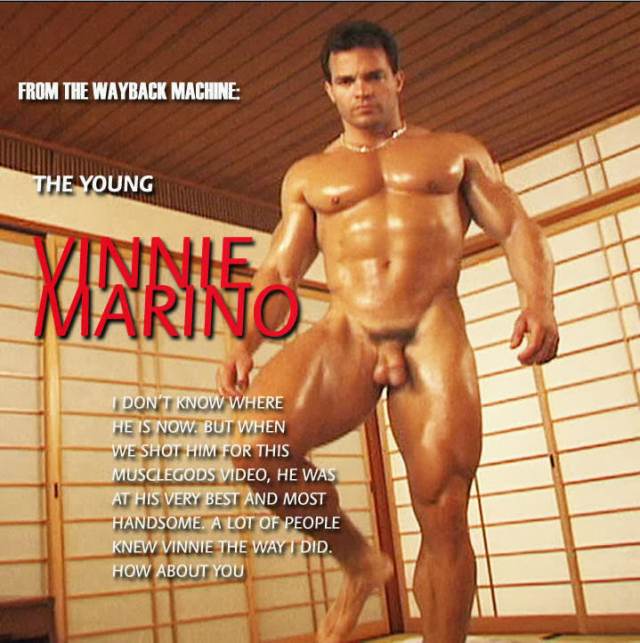 Muscle-Worship Vinnie Marino
