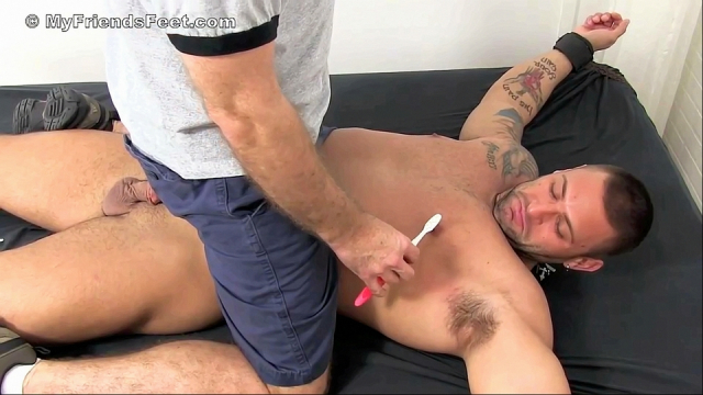 Mike Buffalari Bound & Tickled Naked