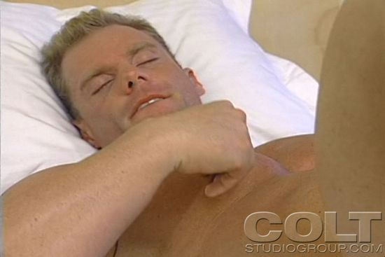 Thor Anders in COLT Minute Man Solo Series 13: Heating Oil, Scene 1
