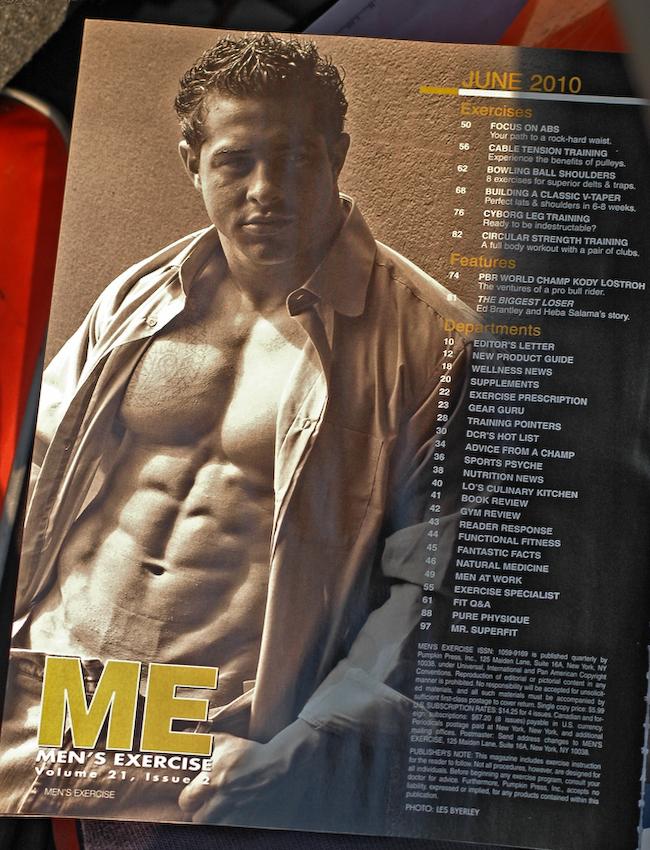 Mens Exercise June 2010