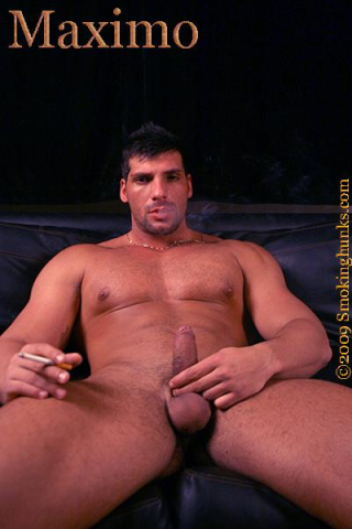 Smoking Hunks Maximo
