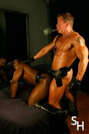 Smoking Hunks Rick Hammersmith & Aden