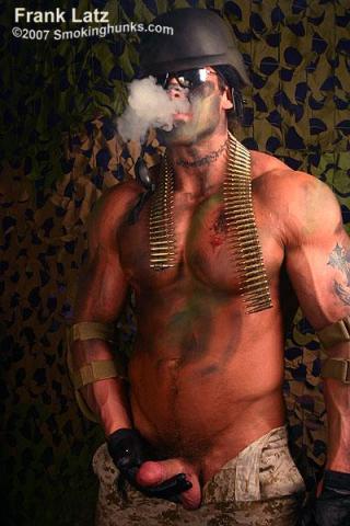 Smoking Hunks Frank Latz