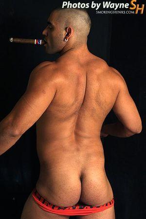 Smoking Hunks Mario