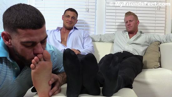 Ricky Worships Johnny and Joey's Feet