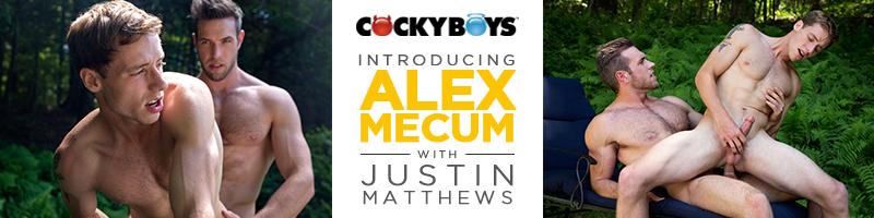 Alex Mecum Fucks Justin Matthews
