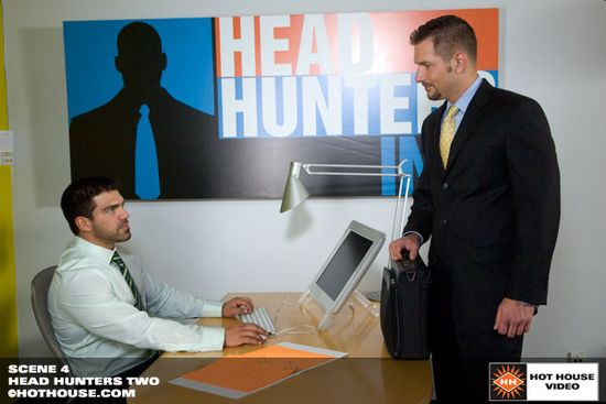 Andrew Justice and Vince Ferelli in Head Hunters 2, Scene 4