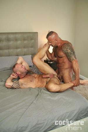 Vic Rocco and Jon Galt Bareback