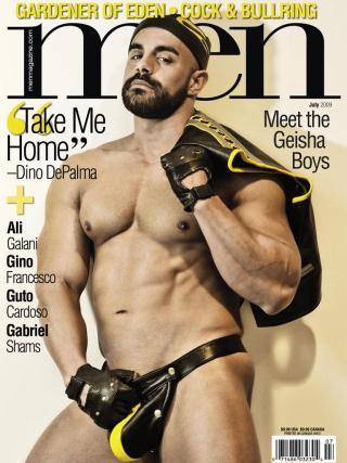 Dino DePalma Men Magazine July 2009