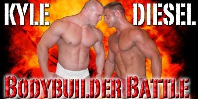 Thunders Arena Bodybuilder Battle 1 - Diesel vs Kyle