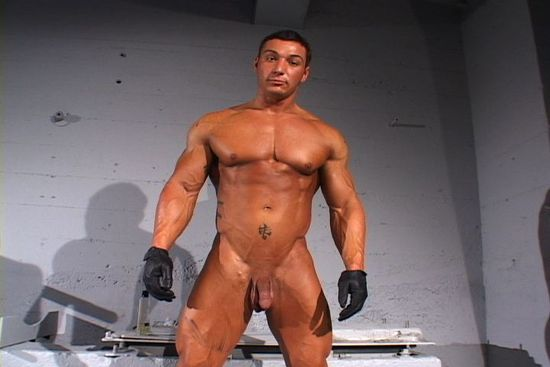 Caleb Muscle Worship Cinema 549
