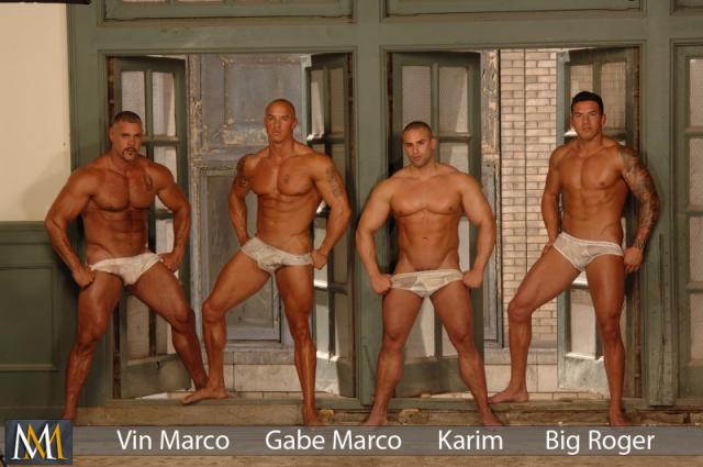 Vin Marco, Gabe Marco, Karim, Big Roger