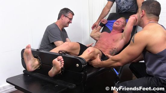Johnny V Gets Tickled Naked