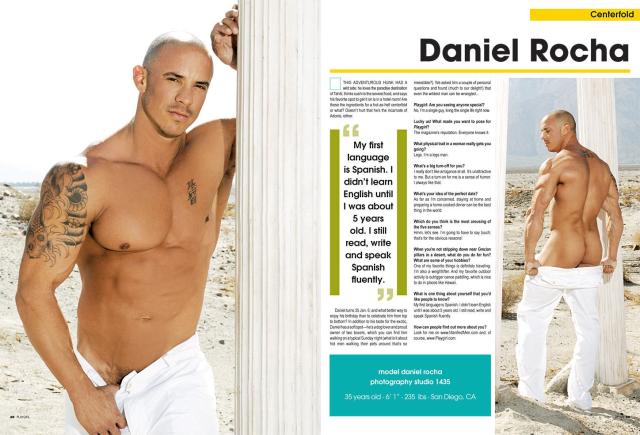 Playgirl Daniel Rocha