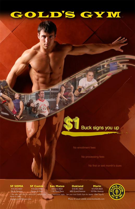 Sean Patrick Golds Gym