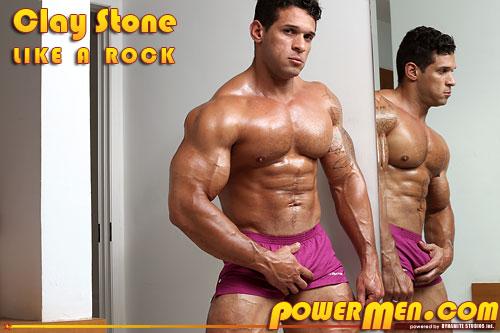 PowerMen Clay Stone