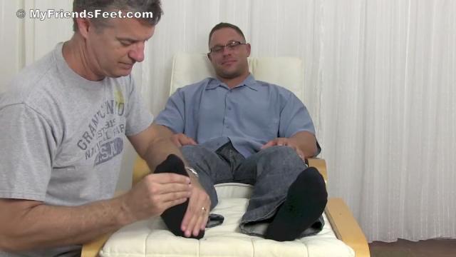 Richie's Dress Socks & Bare Feet Worshiped