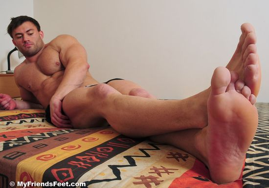 Sasha's Size 11 Bare Feet & White Socks_47