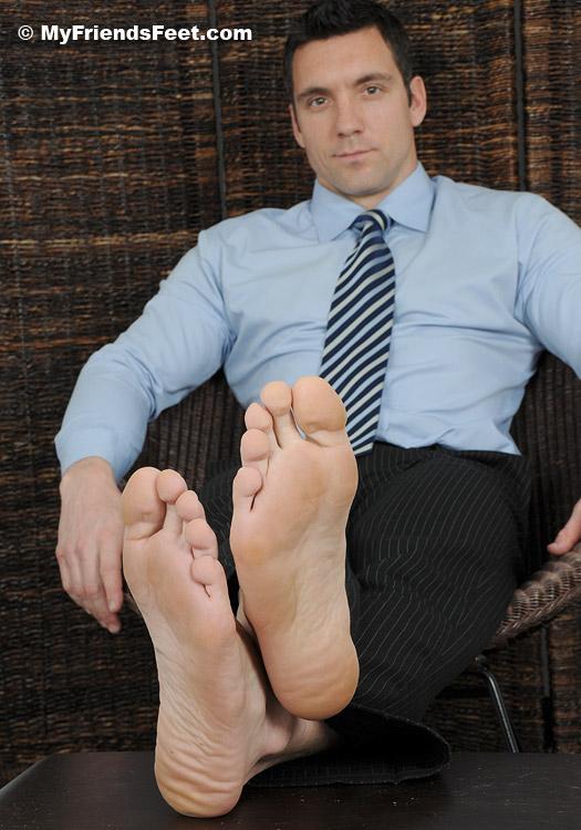 image Observe one feet beautiful