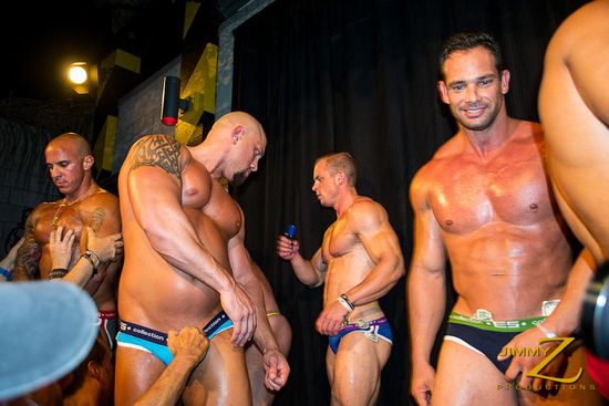 Franco Lombard, Blake Munroe, Gannicus and Vin Marco