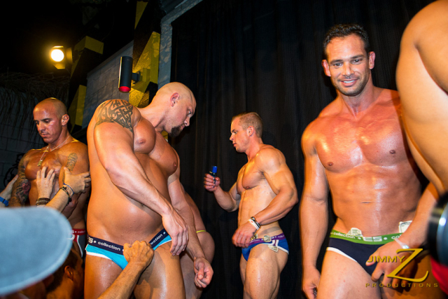 Franco Lombard, Blake Munroe, Gannicus and Vin Marco