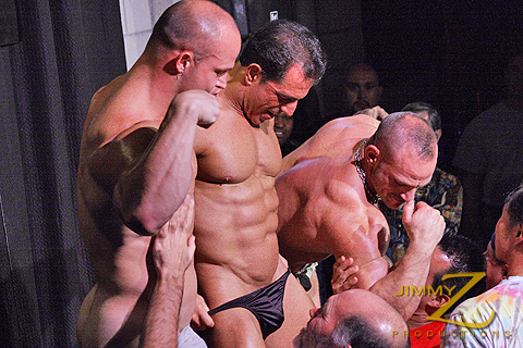 Kyle Stevens, Samuel Colt and Antonio