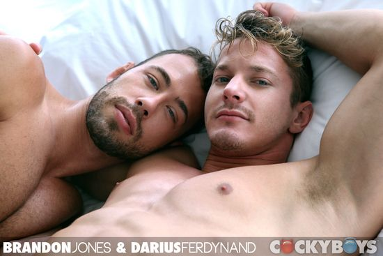 Brandon Jones & Darius Ferdynand Flip-Fuck