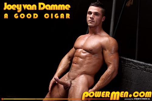 Powermen Joey van Damme