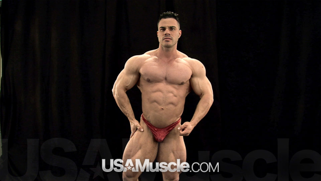 2012 NPC Nationals Men's Bodybuilding Backstage Posing Part 2