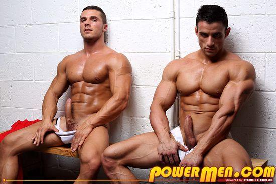 Powermen Macho Nacho and Joey van Damme