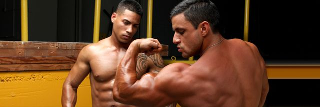 MuscleHunks Macho Nacho and Randy Pacheco