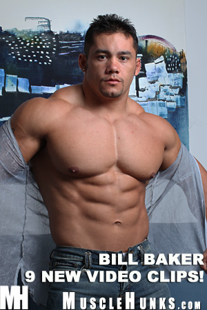 MuscleHunks Bill Baker