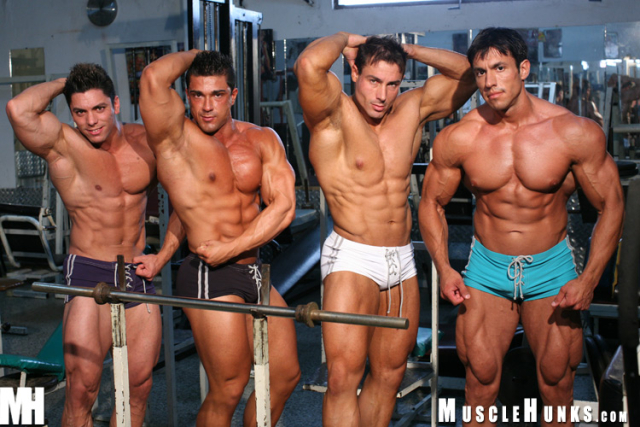 Gilberto Nestore, Scott Kirby, Carter Jackson and Skip Lawrence