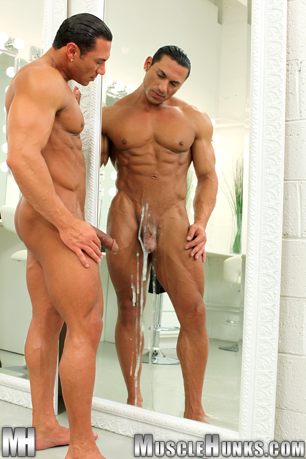 muscle hairy naked mature
