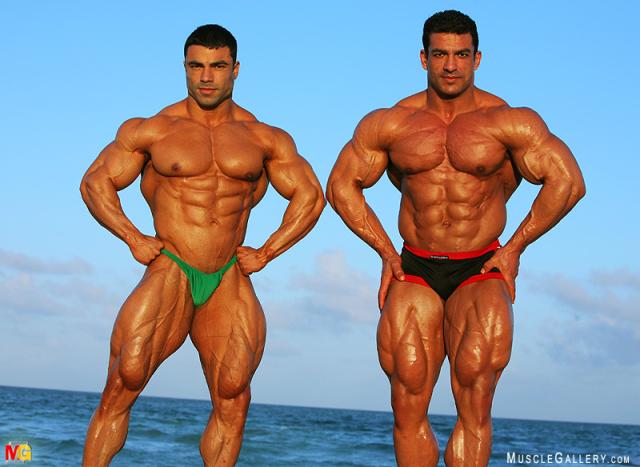 MuscleGallery Eduardo Correa and Tarek Elsetouhi