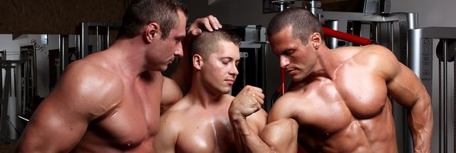 MuscleHunks Jiri Lasik, Carl Payne and Nathan Wood