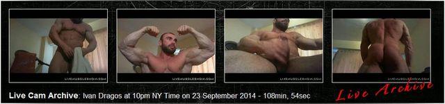 MuscleHunks Live Archive Ivan Dragos