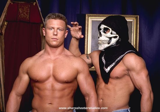 Hunks On Haunted Hill