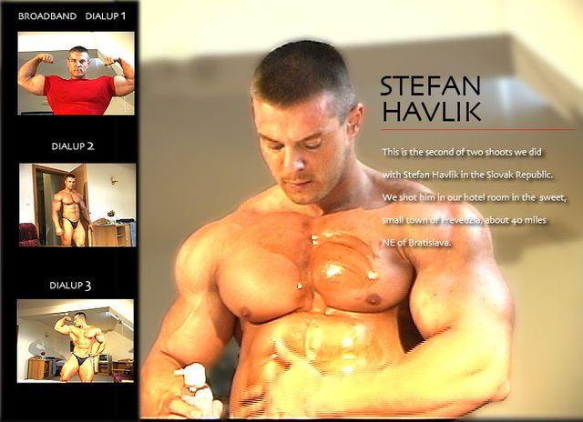 Muscle Worship Stefan Havlik