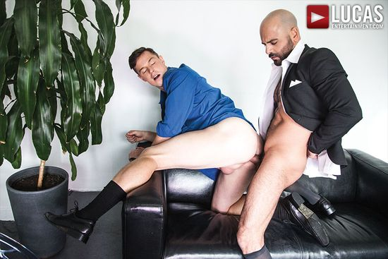 Adam Russo And Jed Athens Pound Each Other Raw