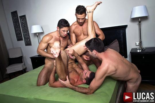 Dato Foland, Craig Daniel, Logan Moore, And Theo Ford Bareback
