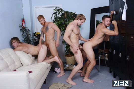 Bennett Anthony, Cameron Foster, Colt Rivers and Tom Faulk