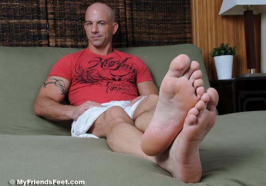 Brock Armstrong's Ticklish Bare Feet